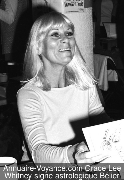 Grace Lee Whitney Bélier