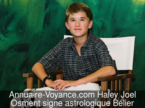Haley Joel Osment Bélier
