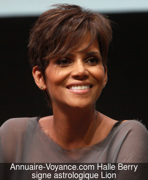 Halle Berry Lion