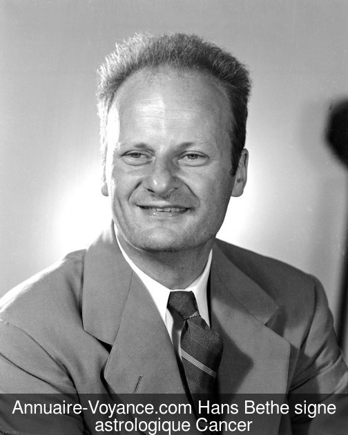 Hans Bethe Cancer