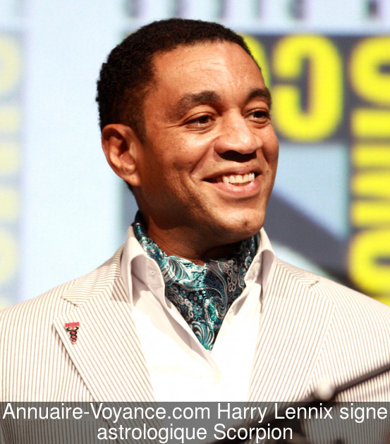 Harry Lennix Scorpion
