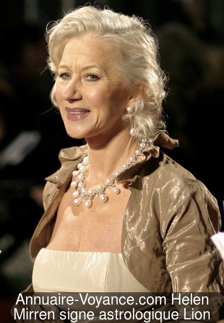 Helen Mirren Lion