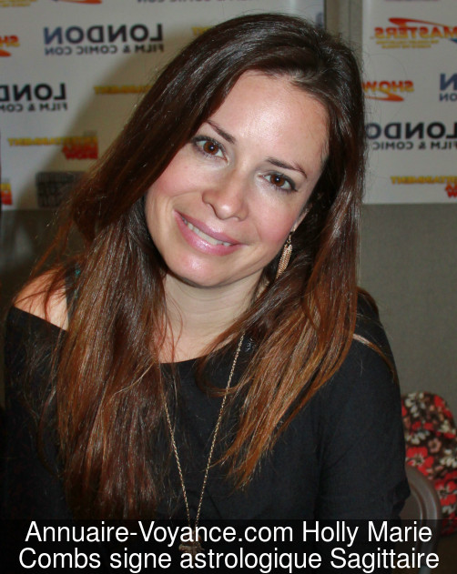 Holly Marie Combs Sagittaire