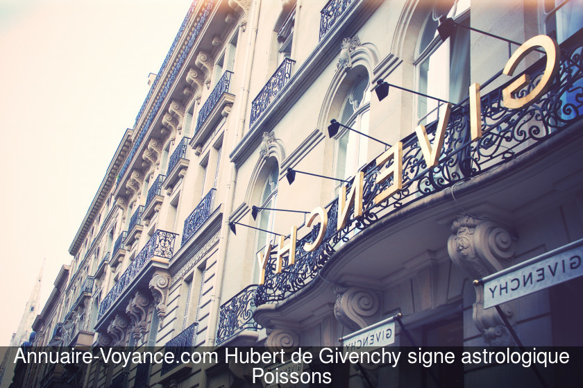 Hubert de Givenchy Poissons