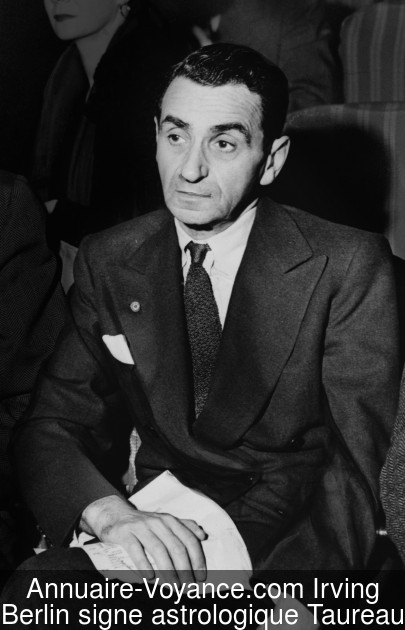 Irving Berlin Taureau