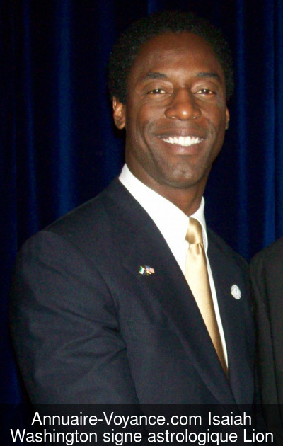 Isaiah Washington Lion