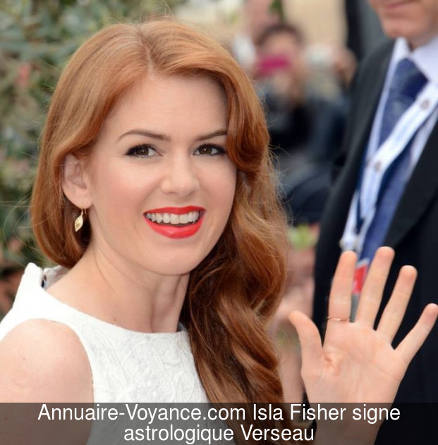 Isla Fisher Verseau