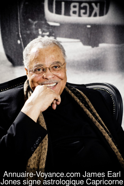 James Earl Jones Capricorne