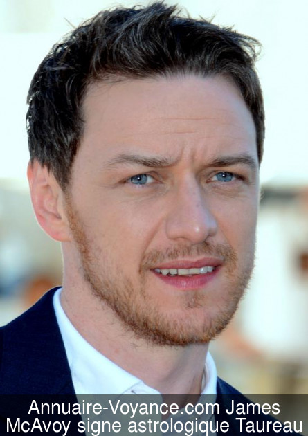 James McAvoy Taureau