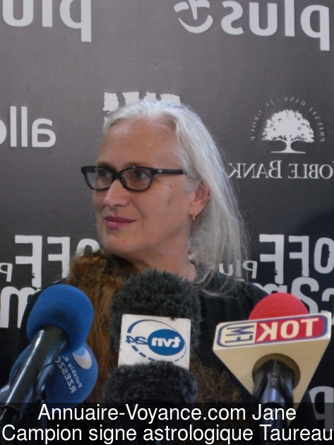Jane Campion Taureau