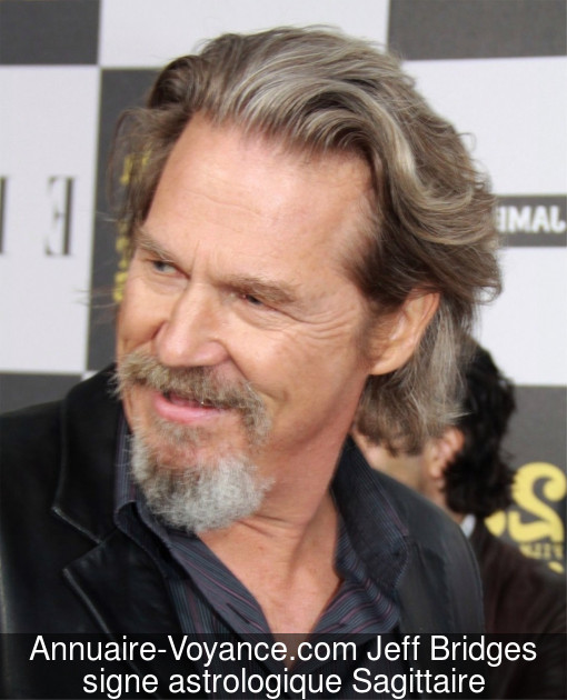 Jeff Bridges Sagittaire