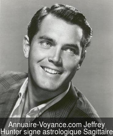 Jeffrey Hunter Sagittaire