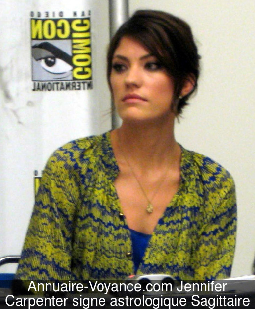 Jennifer Carpenter Sagittaire
