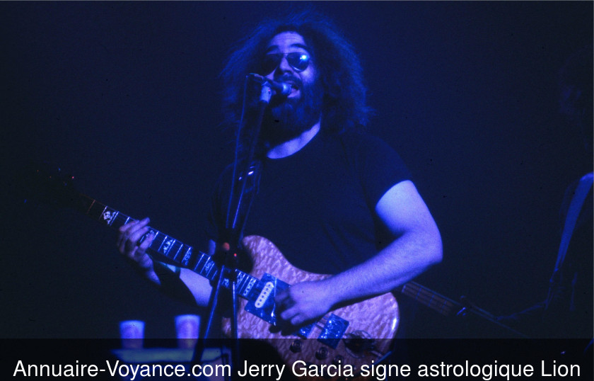 Jerry Garcia Lion