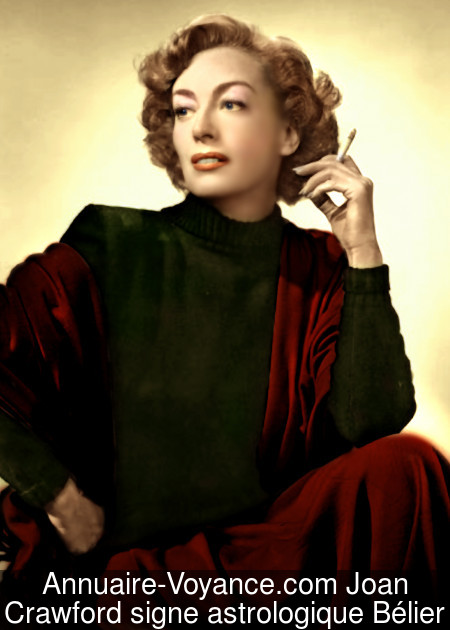 Joan Crawford Bélier