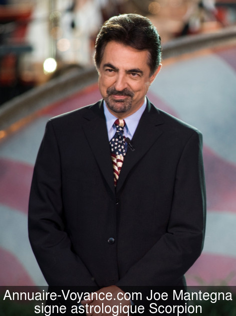 Joe Mantegna Scorpion