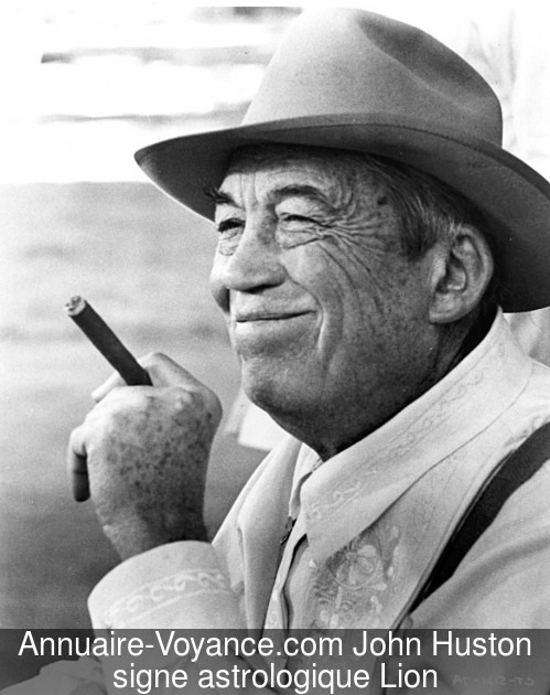 John Huston Lion