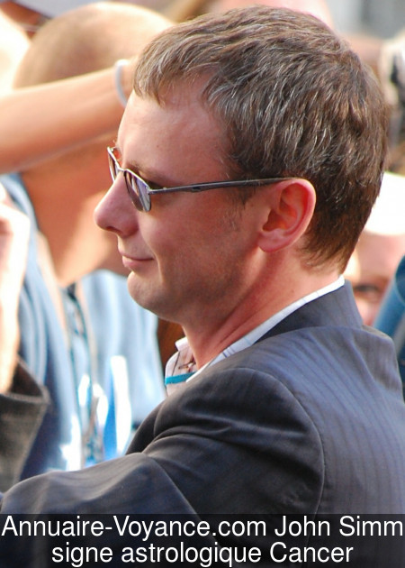 John Simm Cancer