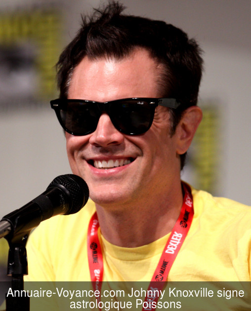 Johnny Knoxville Poissons