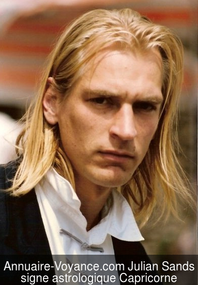 Julian Sands Capricorne