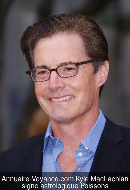Kyle MacLachlan Poissons