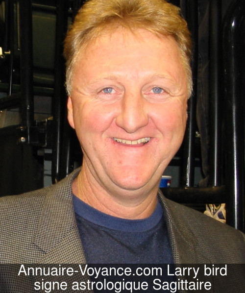 Larry bird Sagittaire