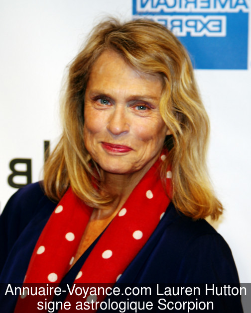 Lauren Hutton Scorpion