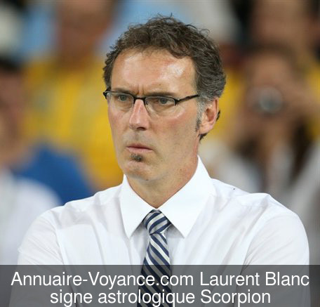 Laurent Blanc Scorpion