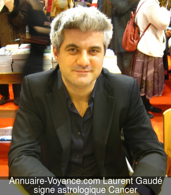 Laurent Gaudé Cancer