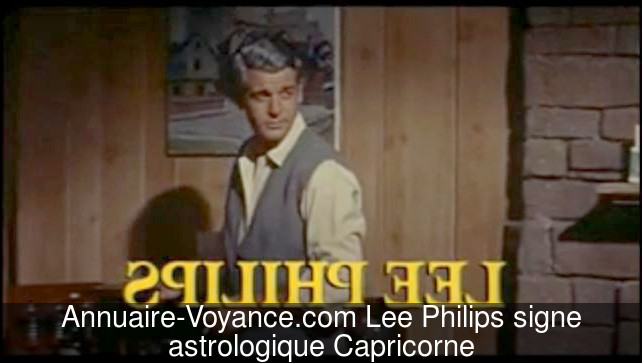 Lee Philips Capricorne