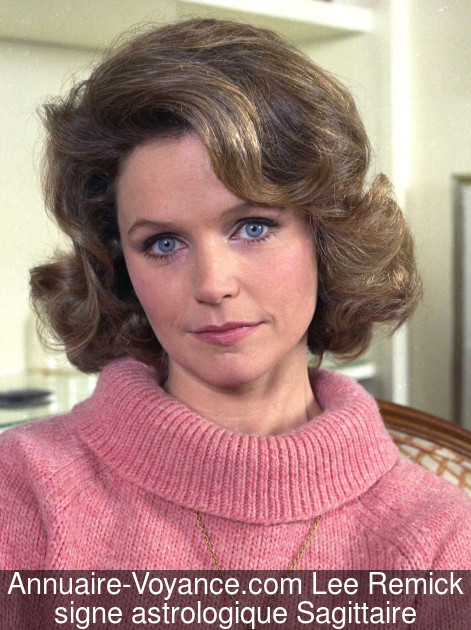 Lee Remick Sagittaire