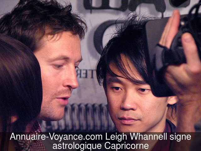 Leigh Whannell Capricorne