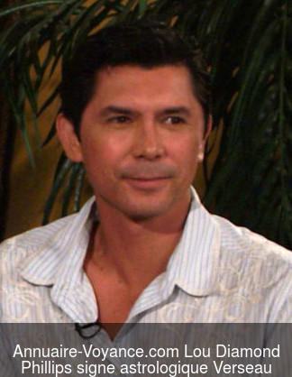 Lou Diamond Phillips Verseau