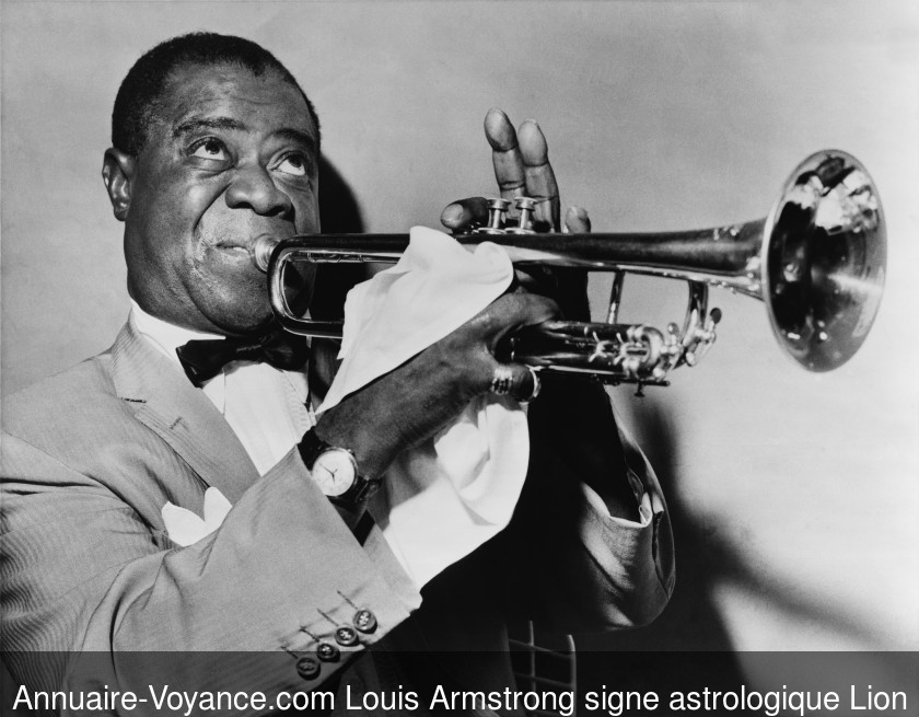 Louis Armstrong Lion