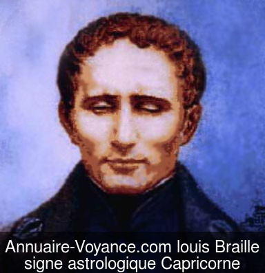 louis Braille Capricorne