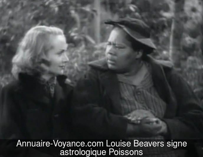 Louise Beavers Poissons