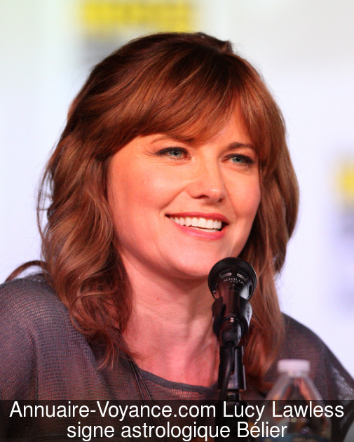 Lucy Lawless Bélier