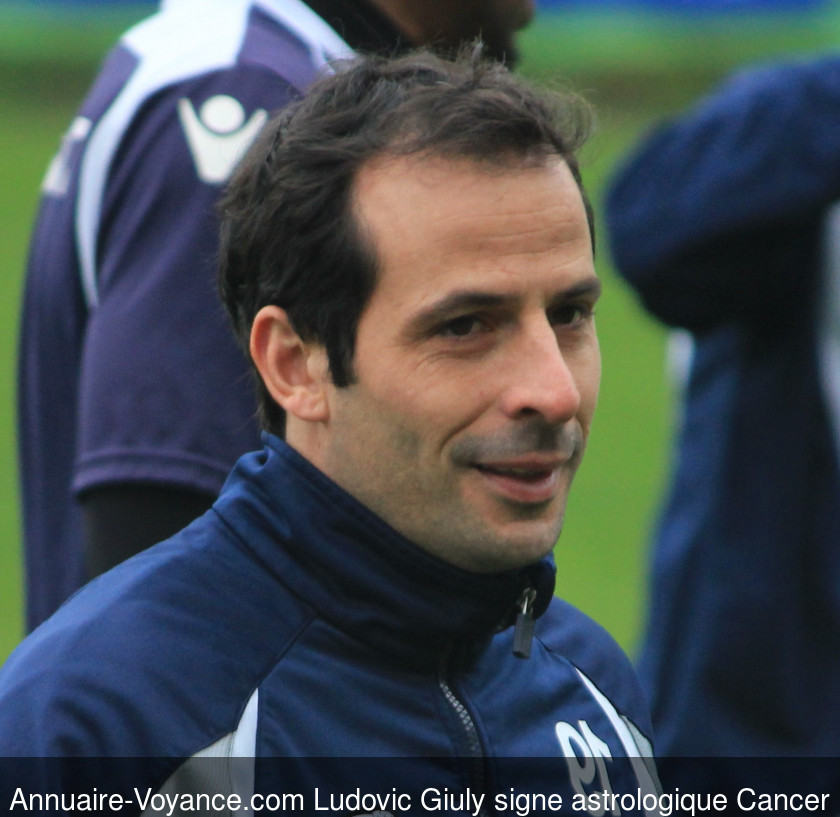 Ludovic Giuly Cancer