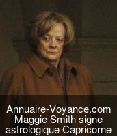 Maggie Smith Capricorne