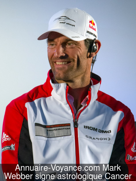 Mark Webber Cancer