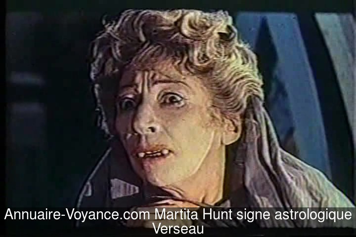 Martita Hunt Verseau