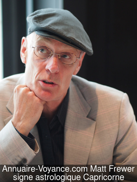 Matt Frewer Capricorne