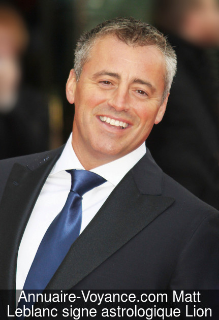 Matt Leblanc Lion