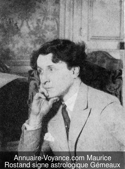 Maurice Rostand Gémeaux