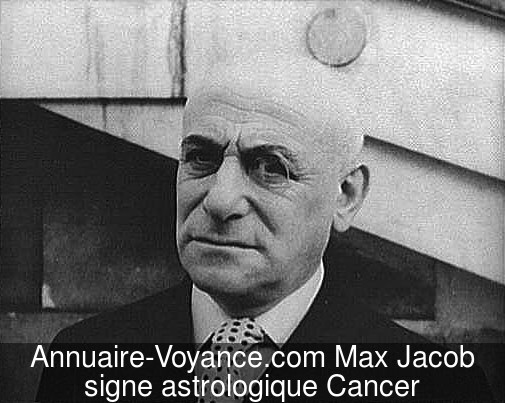 Max Jacob Cancer