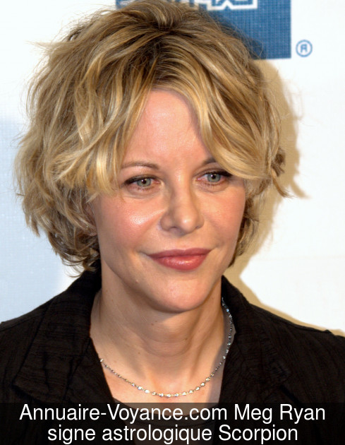 Meg Ryan Scorpion