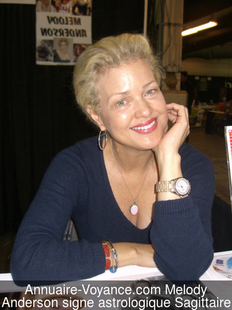 Melody Anderson Sagittaire