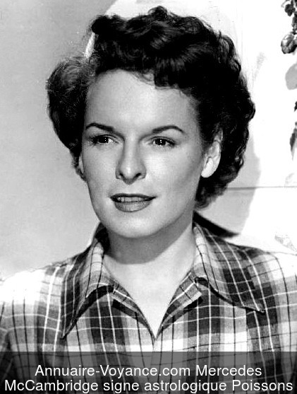 Mercedes McCambridge Poissons