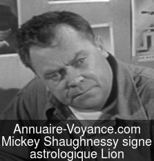 Mickey Shaughnessy Lion