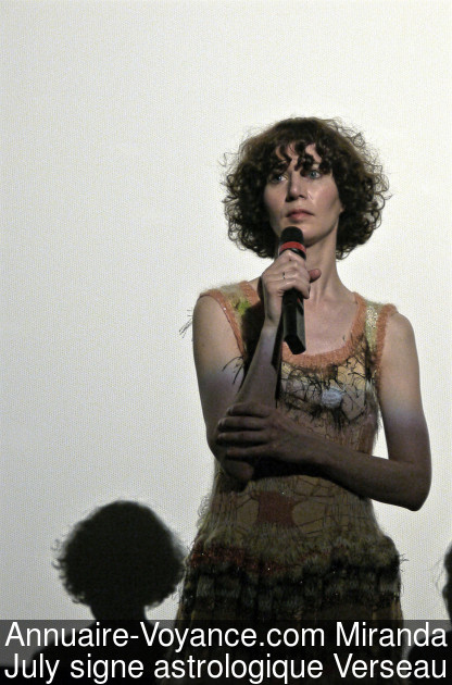 Miranda July Verseau